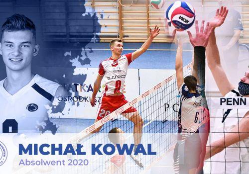 Michał Kowal o życiu, studiach i siatkówce w USA